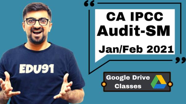 CA IPCC Audit & SM Combo - Google Drive-Nov 2020 cover