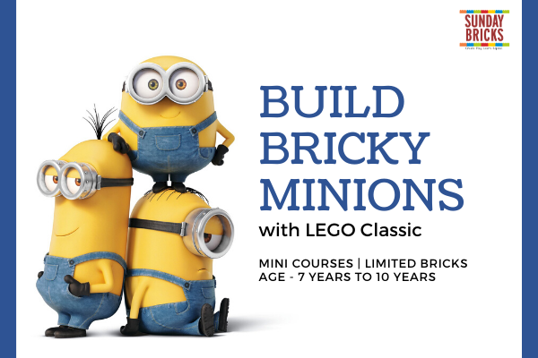 Build Bricky Minions cover