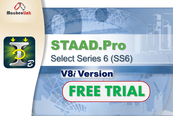 STAAD.Pro V8i (Trial) cover