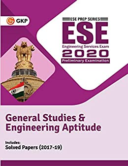 UPSC ESE 2020 : General Studies & Engineering Aptitude Paper I - Guide cover