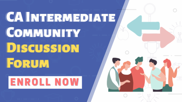 CA Intermediate Community | Discussion Forum cover