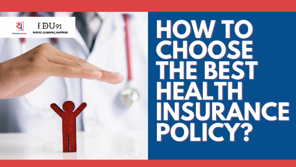 How to Choose the Best Health Insurance Policy - Yadnya Ebook cover