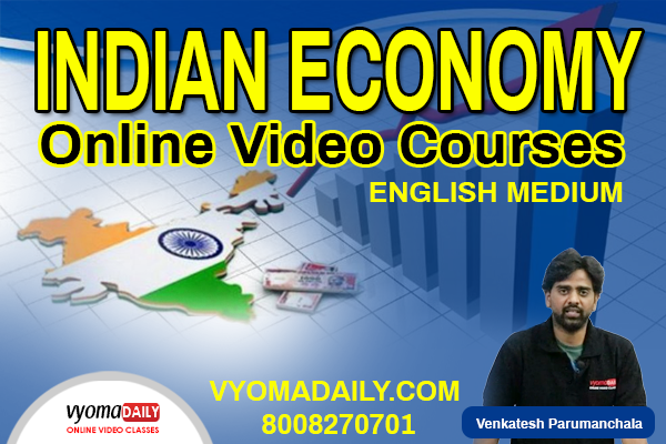 Indian Economy Online Classes English Medium | Vyomadaily cover
