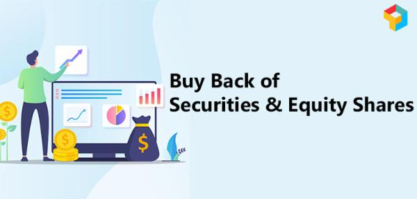Buy Back of Securities & Equity Shares - A Complete Study cover