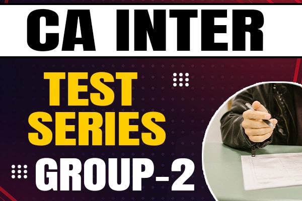 CA Intermediate Group-2 : Test Series cover