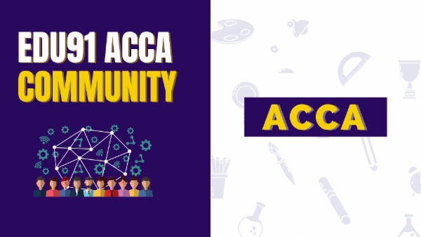 EDU91 ACCA Community for Students cover