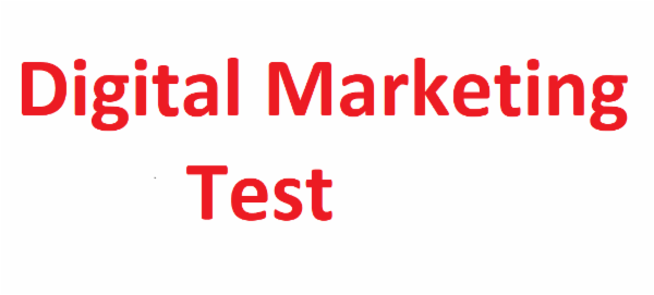 Digital Marketing - Test cover