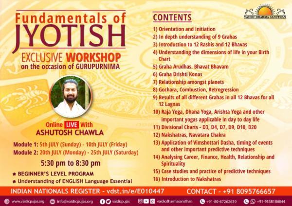 Fundamentals of Jyotish cover
