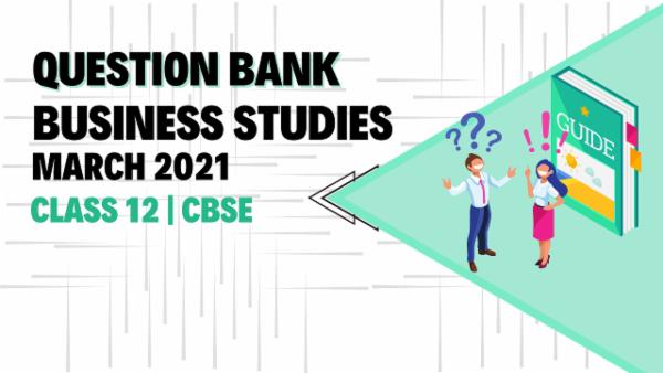 Question Bank Business Studies Class 12 cover
