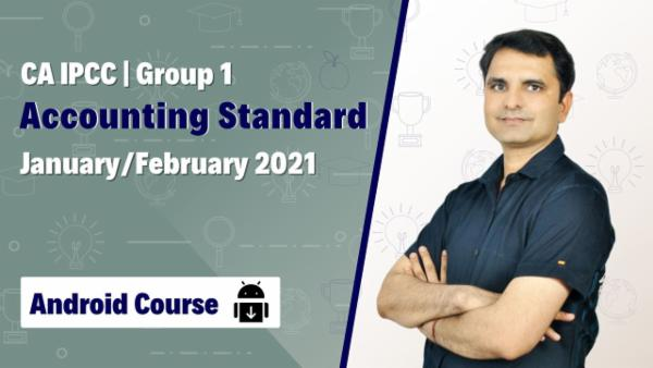 CA IPCC Group 1 AS Video Lectures - Android App - Nov 2020 cover