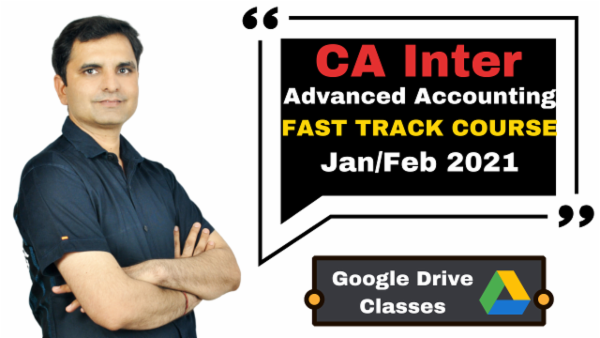 CA Inter Advanced Accounting Fast Track Course - Google Drive - Nov 2020 cover