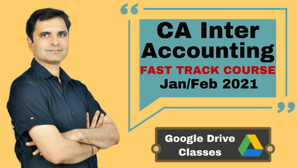 CA Inter Accounting Fast Track Course - Google Drive - Nov 2020 cover