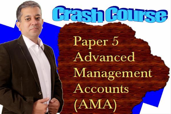CA FINAL - CRASH COURSE - AMA cover