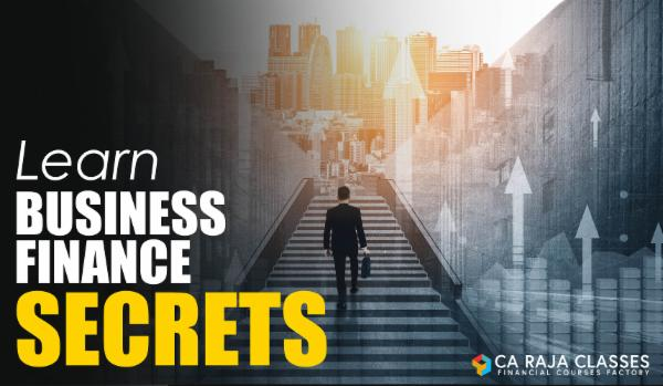 Learn Business Finance Secrets - Course for Every Entrepreneur cover