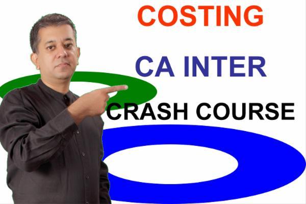 CA INTER - COSTING - Crash Course cover