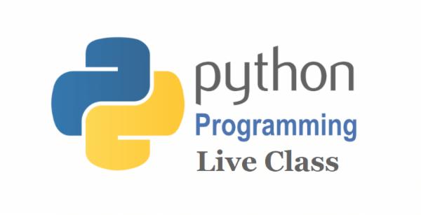 LIVE CLASS (Zoom) - Python cover