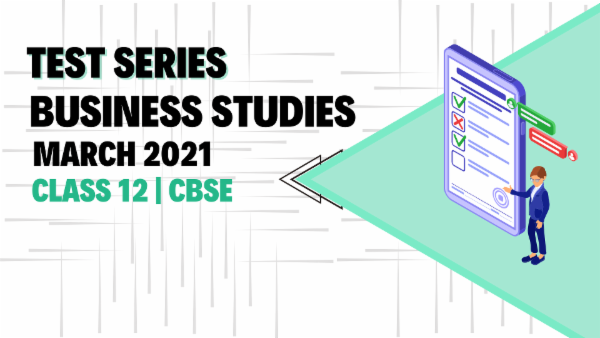 Business Studies Test Series Class 12 cover
