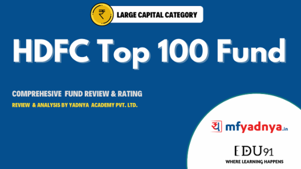 HDFC Top 100 Fund - May 31 2020 | Yadnya Review cover