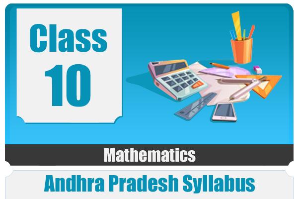 CLASS 10 MATHEMATICS - AP cover
