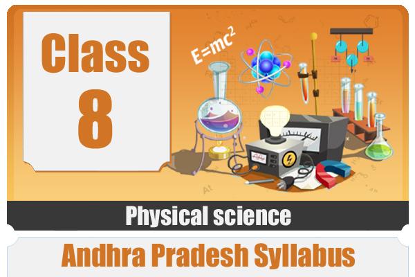 CLASS 8 PHYSICS - AP cover