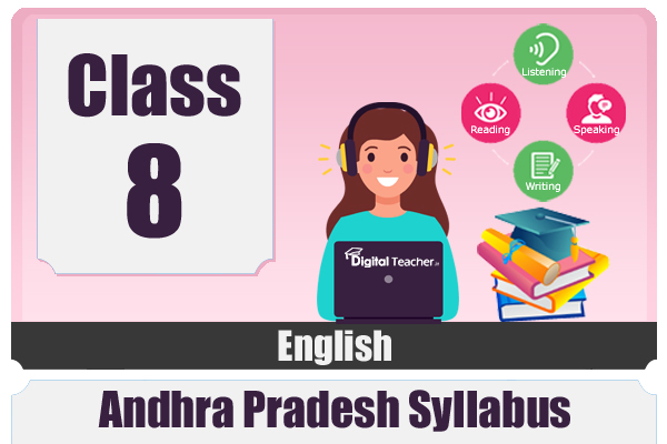 CLASS 8 ENGLISH - AP cover