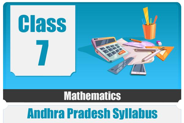 CLASS 7 MATHEMATICS - AP cover