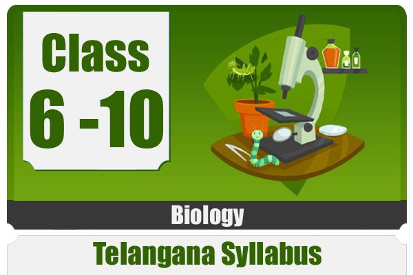 BIOLOGY - TELANGANA cover