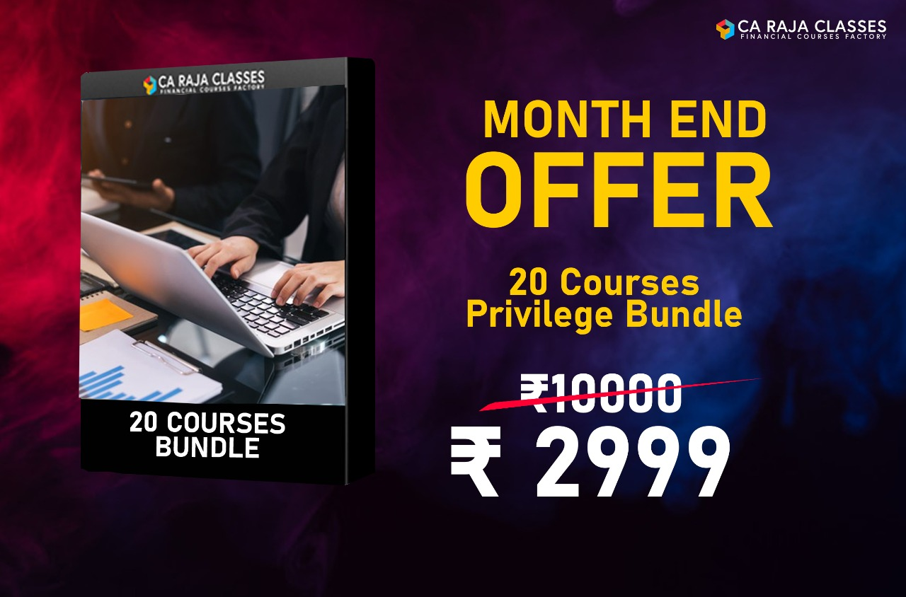 20 Financial Courses Privilege Bundle cover