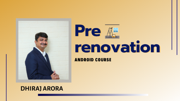 Pre-renovation for your home cover