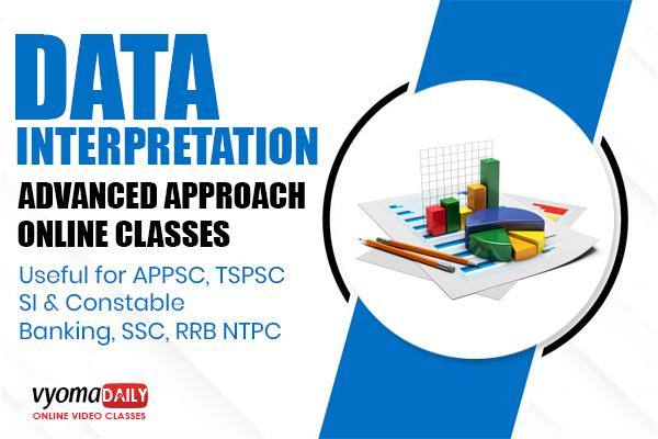 Data interpretation Online Classes in Telugu | Reasoning | Vyoma Daily cover