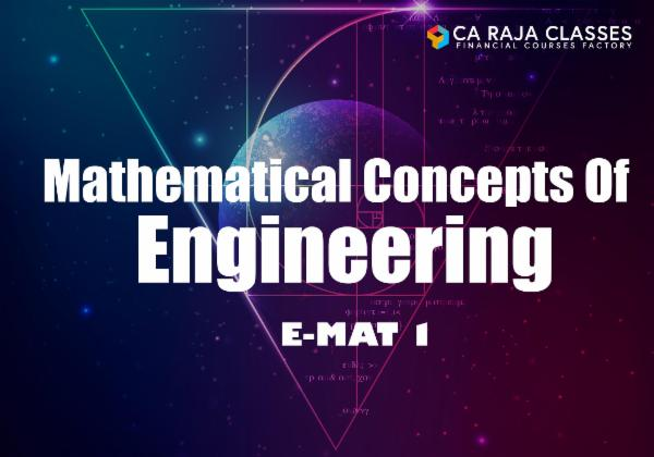 Mathematical Concepts of Engineering - EMAT-1 cover