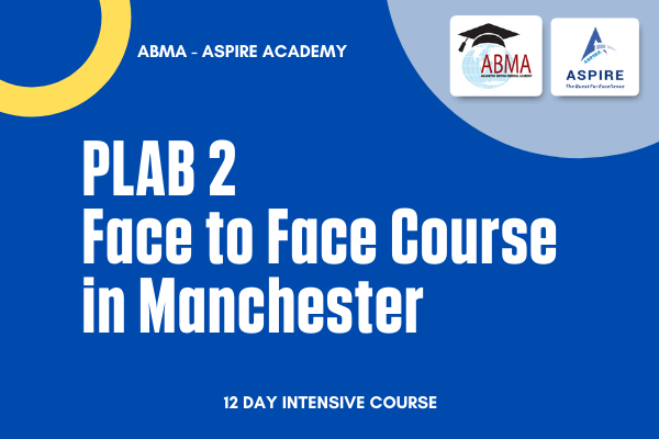 PLAB 2 Course in Manchester cover