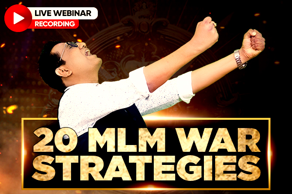20 MLM War Strategies cover