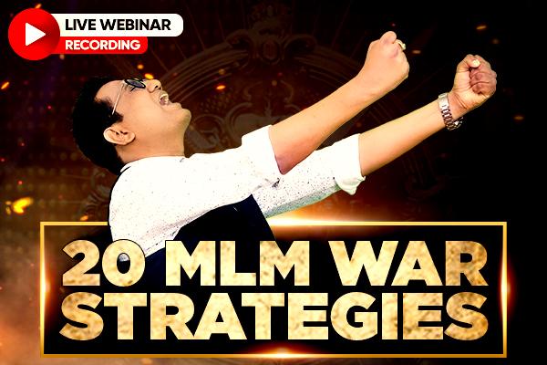 20 MLM War Strategies cover