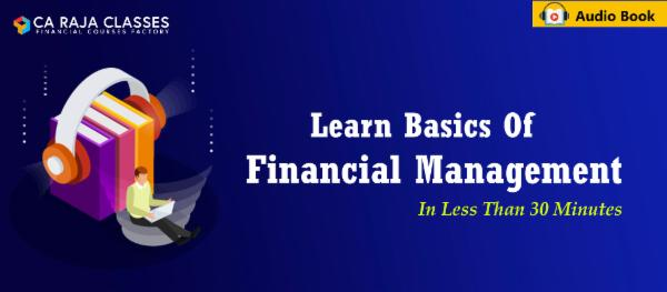 Learn Basics of Financial Management in less than 30 Minutes cover