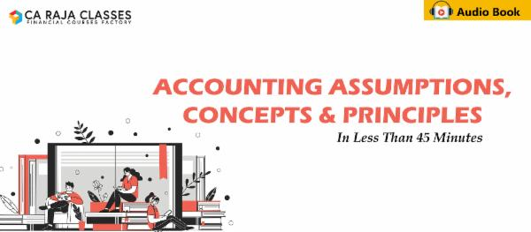 Learn Accounting Assumptions, Concepts & Principles in less than 45 Minutes cover