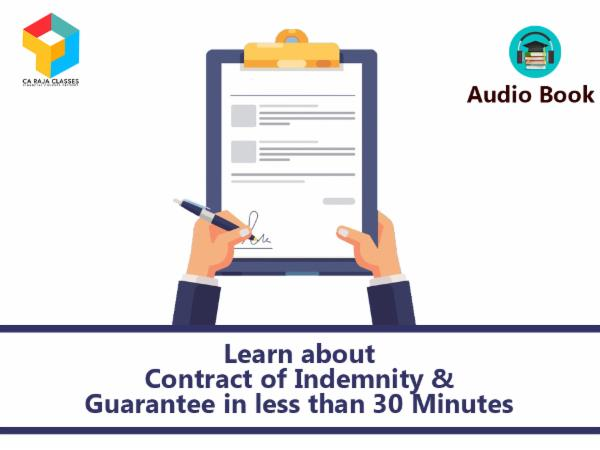 Learn about Contract of Indemnity & Guarantee in less than 30 Minutes cover