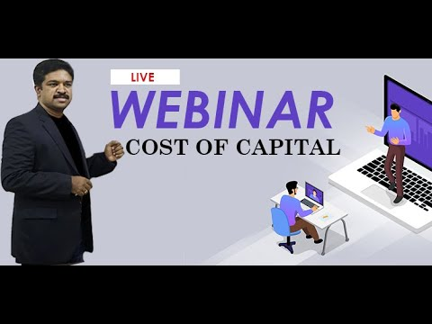 Recorded Video of Webinar on Cost of Capital cover