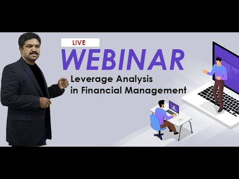 Recorded Video of Webinar on Leverage Analysis in Financial Management cover