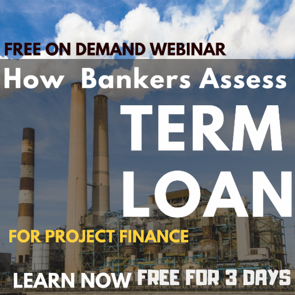 Recorded Video of Webinar on How to carry out Term Loan Appraisal as Banker cover