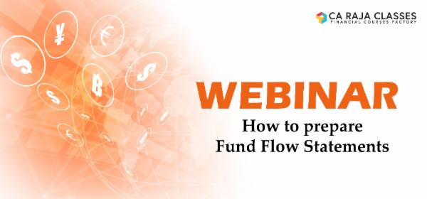 Recorded Video of Webinar on How to prepare Fund Flow Statements cover