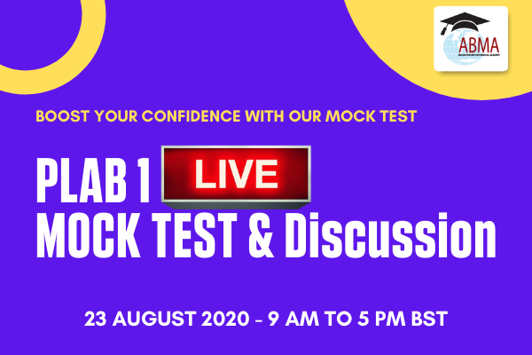 PLAB 1 Live Mock & Discussion cover