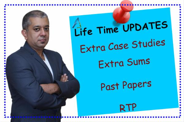 CA FINAL - LIFE TIME UPDATES cover
