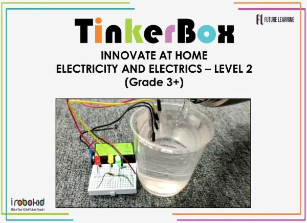 Tinker Box Jr - Electricity and Electrics - Level 2 cover
