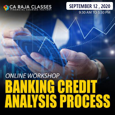 One Day Online Workshop on Banking Credit Analysis Process cover
