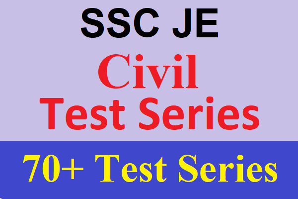 Best Online Test Series for SSC JE Civil Engineering, SSC JE 2019 Civil Test Series cover