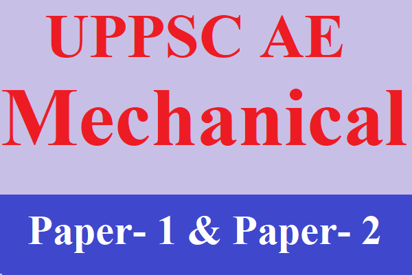UPPSC AE Mechanical Test Series | Best Online Mock Test for UPPSC AE Mechanical Engineering cover