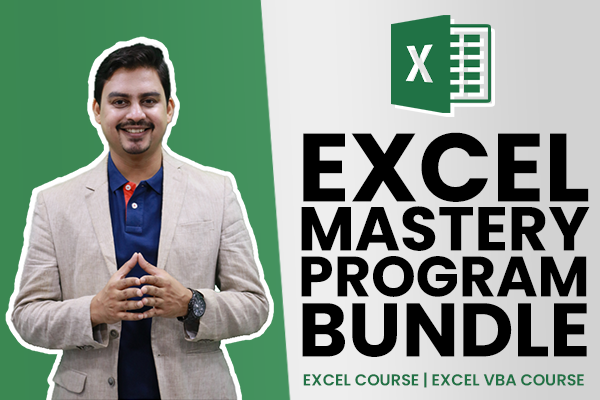 Excel Mastery Program Bundle cover
