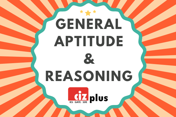 General Aptitude & Reasoning cover