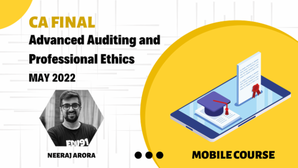 CA Final Advanced Auditing and Professional Ethics - May 2022 - Android App - Super 70 cover